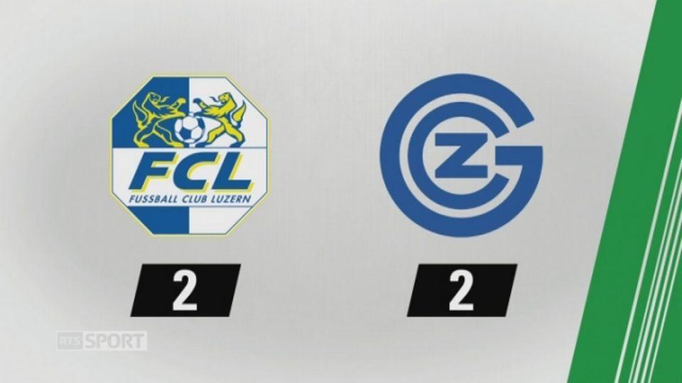 3e journée, Lucerne - Grasshopper 2-2: les buts de la rencontre [RTS]