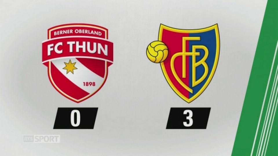 3e journée, Thoune - Bâle 0-3: les buts de la rencontre [RTS]
