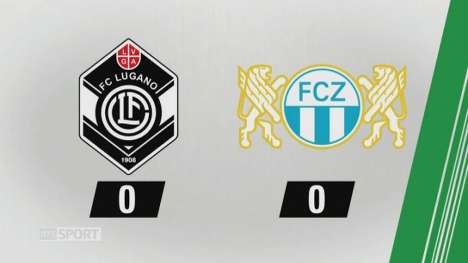 3e journée, Lugano - Zürich 0-0: le résumé de la rencontre [RTS]