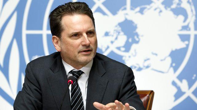 Pierre Krähenbühl, commissaire général de l'UNRWA. [Salvatore Di Nolfi - Keystone]