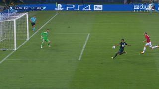 Supercoupe, finale: Real Madrid – Man. United 1-0, 24 Casemiro [RTS]