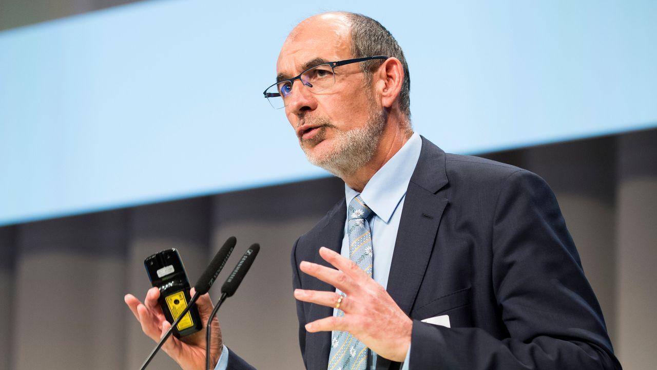 Jacques Bourgeois ne présentera pas sa candidature pour succéder à Didier Burkhalter. [Anthony Anex - Keystone]