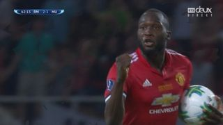 Supercoupe, finale: Real Madrid – Man. United 2-1, 62 Lukaku [RTS]