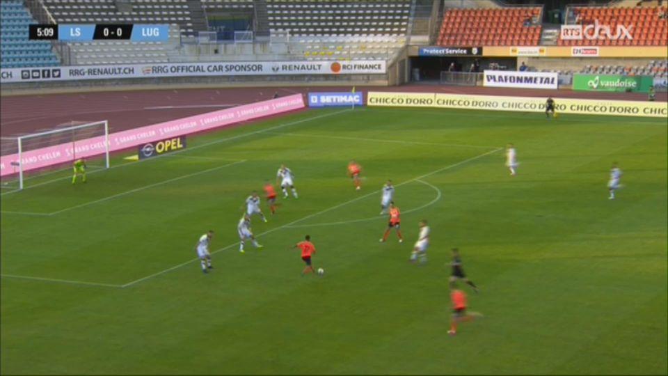 Super League, 4e journée: Lausanne-Sport – Lugano (2-3) + itw de Fabio Celestini, entraîneur du Lausanne Sport [RTS]