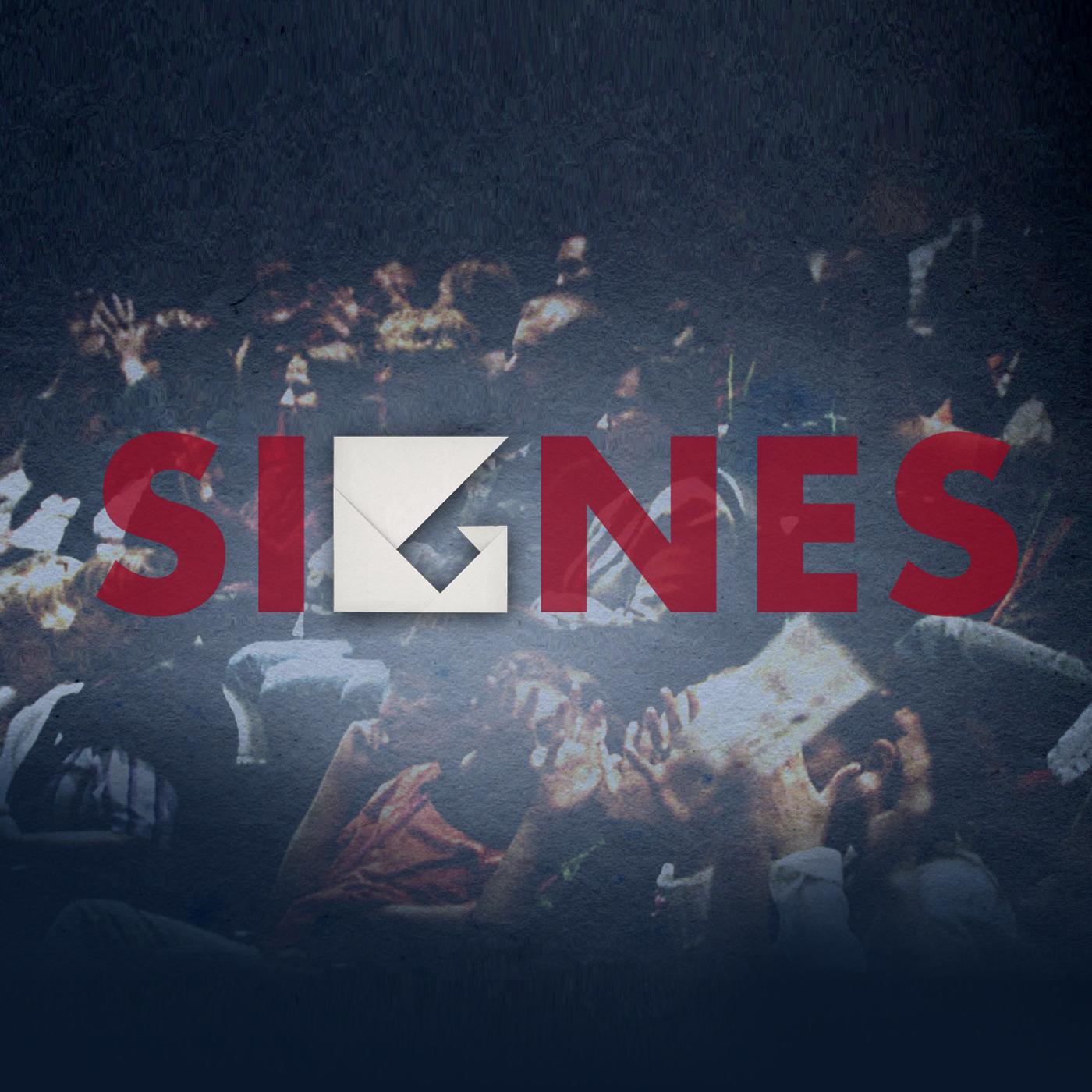 Signes podcast logo [RTS]