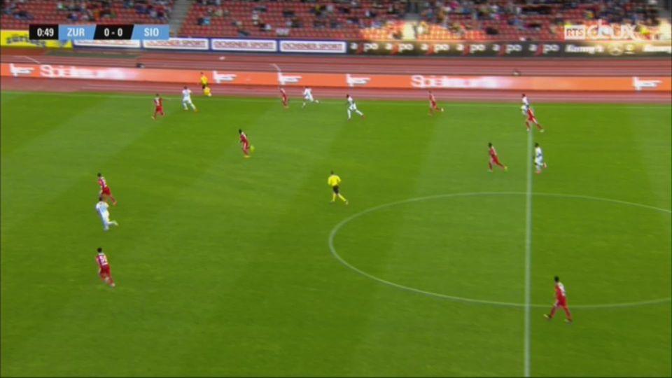 Football - Super League: Zurich – Sion (2-0) [RTS]