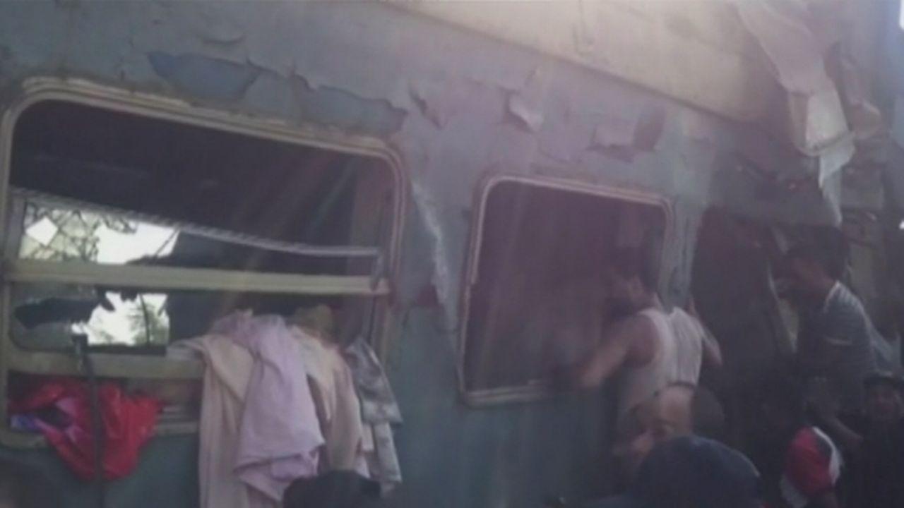 Plus de trente morts dans une collision de trains en Egypte [RTS]