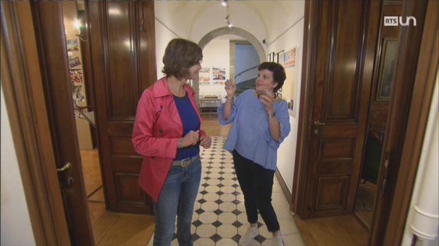 Sabine Carruzzo explique la traditionnelle fête des vignerons à Vevey [RTS]