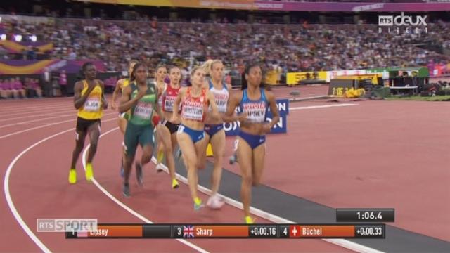 Mondiaux, 800m: Selina Büchel (SUI) éliminée [RTS]