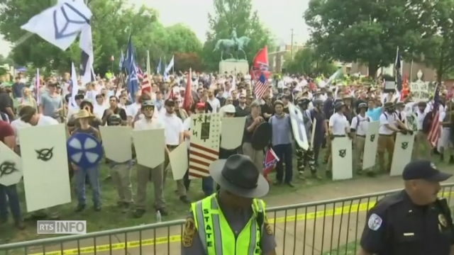 Violents heurts à Charlottesville (USA)