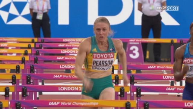 Mondiaux, 100m haies: Pearson (AUS) s'impose en 12:59 [RTS]