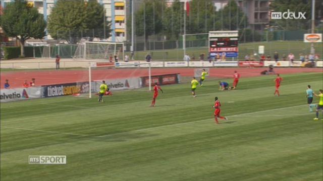 Football - Coupe de Suisse 32es de finale: Payerne – Thoune (1-2) [RTS]