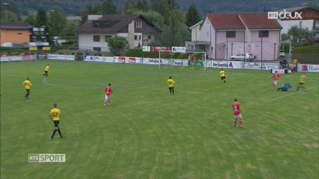 Football - Coupe de Suisse 32es de finale: Bassecourt – Lugano (0-6) [RTS]
