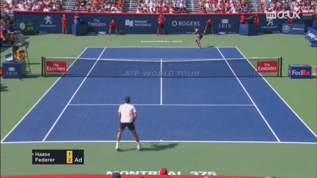 Tennis - ATP Montréal: Federer se qualifie pour la finale [RTS]