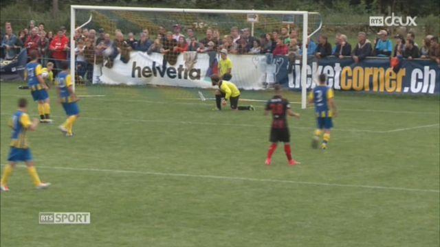 Football - Coupe de Suisse 32es de finale: Montfaucon – Xamax (0-21) [RTS]