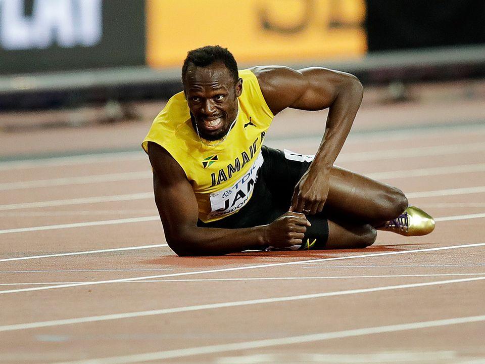 Bolt ne s'attendait certainement pas à une telle fin. [Tim Ireland - Keystone]
