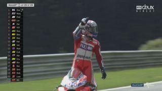 GP d'Autriche, Moto GP: Dovizioso (ITA) gagne devant Marques (ESP) 2e et Pedrosa (ESP) 3e [RTS]