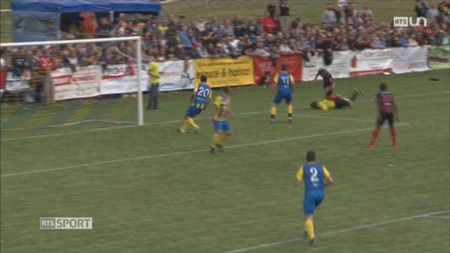 Football - Coupe de Suisse: les amateurs de Montfaucon affrontaient Neuchâtel Xamax [RTS]