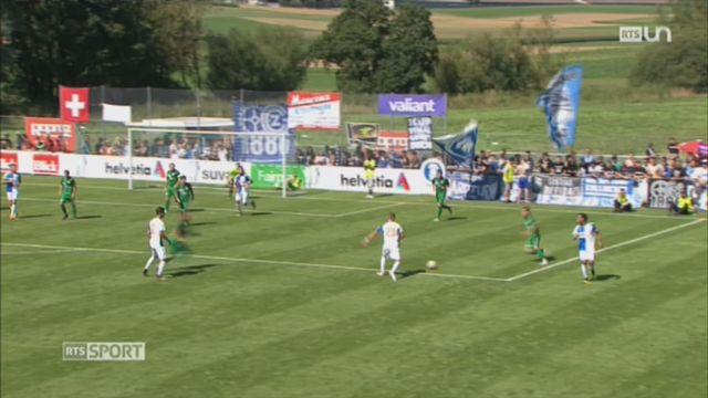Football - Coupe de Suisse: le CS Romontois perd 10-0 contre Grasshopper [RTS]