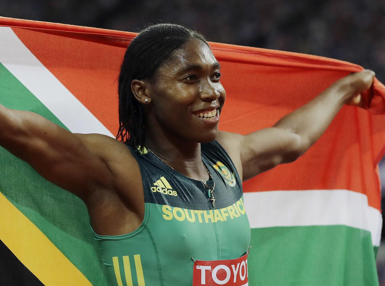 800m : la Sud-Africaine Caster Semenya retrouve son titre mondial