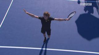 Montréal, finale: Roger Federer (SUI) - Alexander Zverev (GER), 3-6 4-6 [RTS]