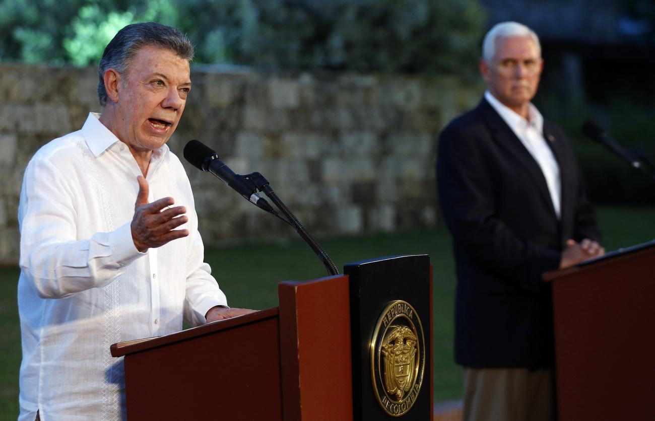 Mike Pence se rend en Amérique du Sud — Crise au Venezuela