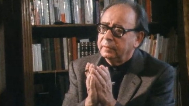 L'écrivain genevois Georges Haldas en 1982. [RTS]