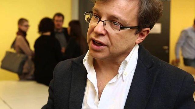 Olivier Christin, professeur d'histoire moderne à l'Université de Neuchâtel. [Université de Neuchâtel/Youtube]