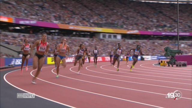Athlétisme: les relayeuses suisses disputeront la finale du 4x100m [RTS]