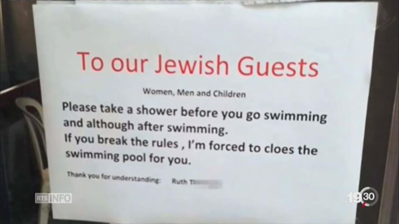 Arosa: accusé d'antisémitisme, un hôtel dans la tourmente [RTS]