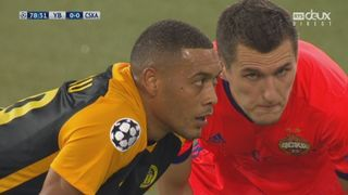Barrages, Young Boys - CSKA Moscou (0-0): énorme occasion pour Hoarau [RTS]