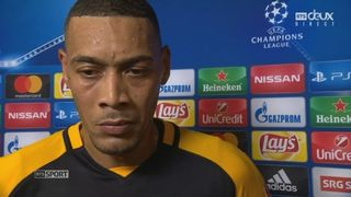 Barrages, Young Boys - CSKA Moscou (0-1): Guillaume Hoarau à l'interview [RTS]