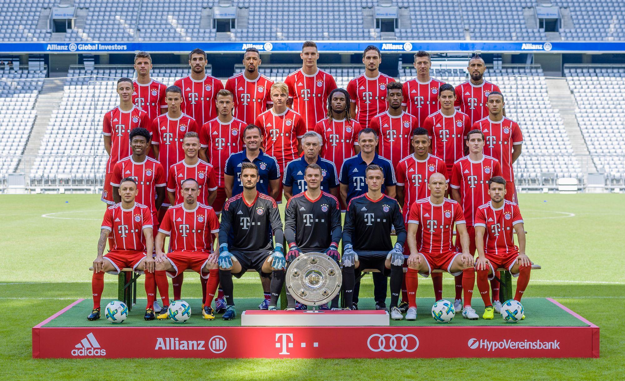 Le Bayern démarre par une victoire — Bundesliga