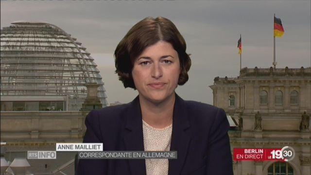 Agents suisses sous enquête: les précisions d'Anne Mailliet [RTS]