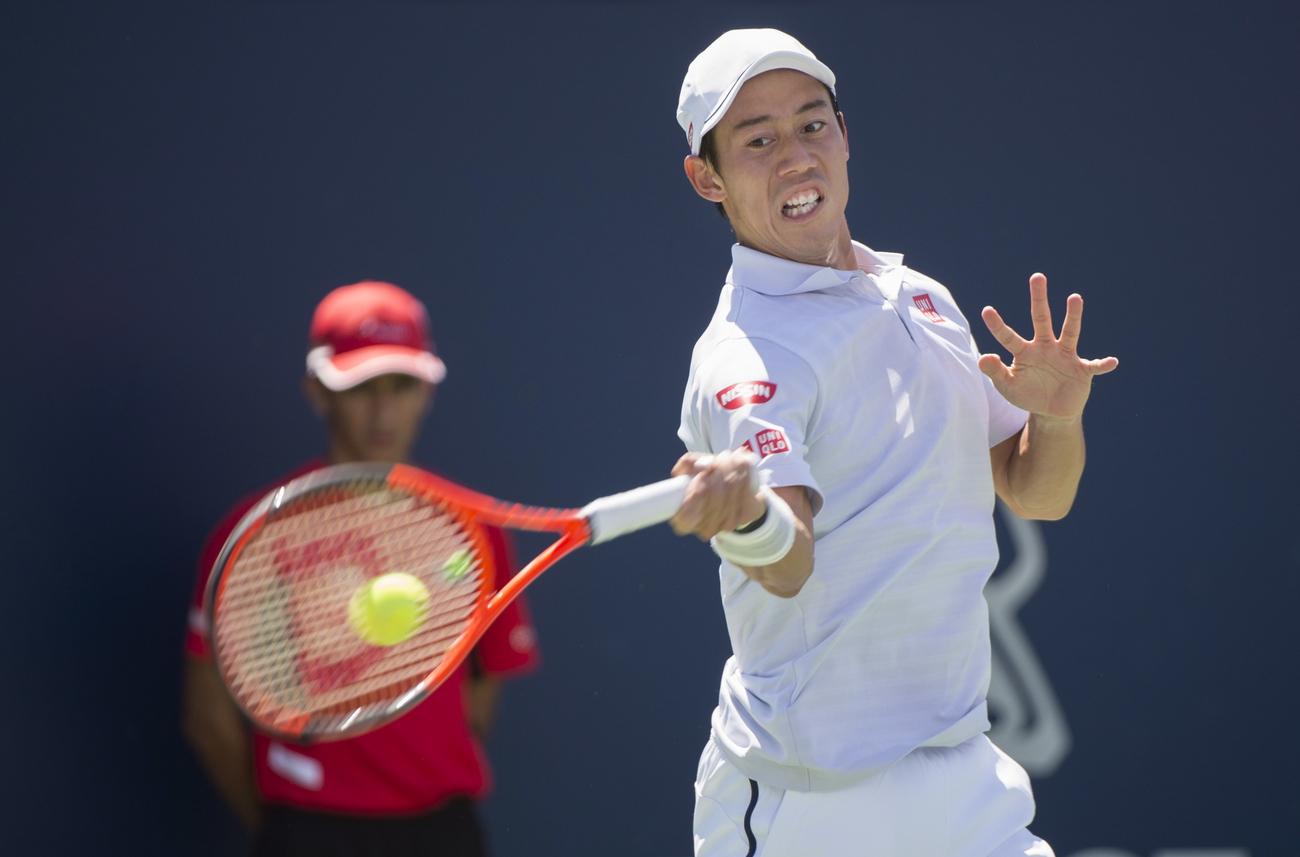 Tennis: saison terminée pour Kei Nishikori