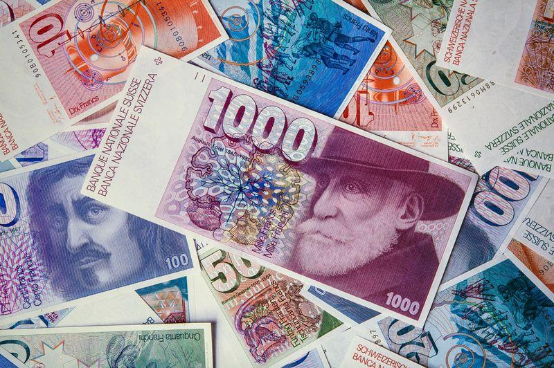 billet de banque suisse 1000