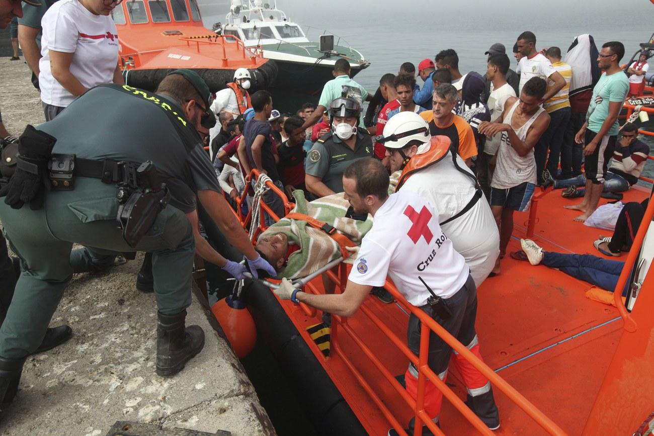 L'Espagne secourt 339 migrants dans la Méditerranée