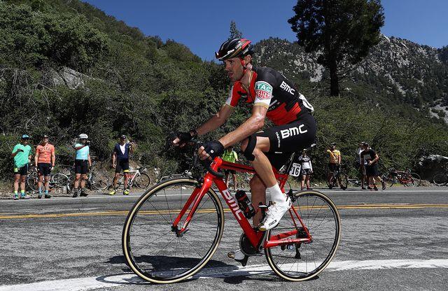 Samuel Sanchez ne pourra pas prendre le départ de la Vuelta samedi. [Bryn Lennon - AFP]