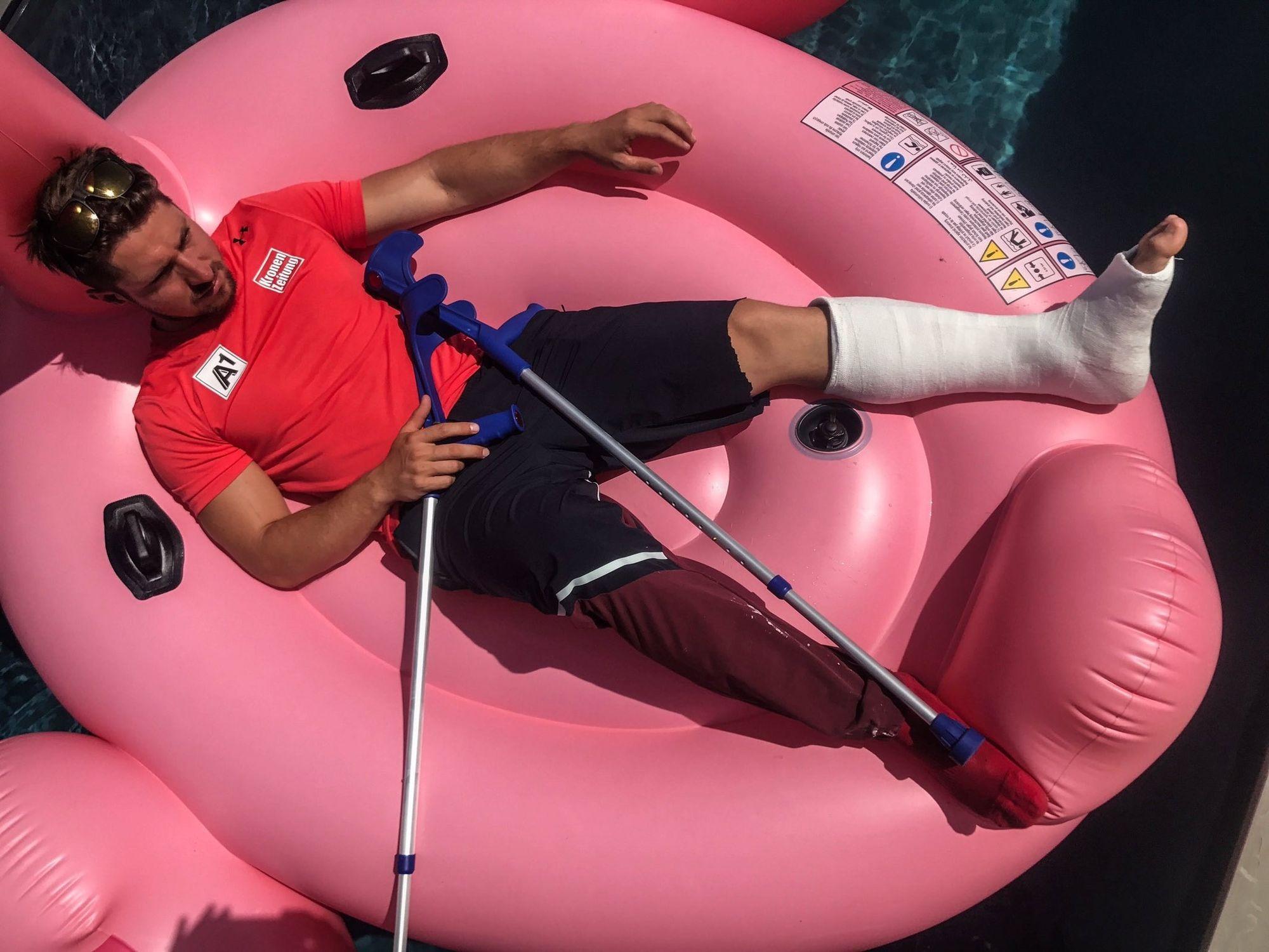 Ski: fracture de la malléole pour Hirscher