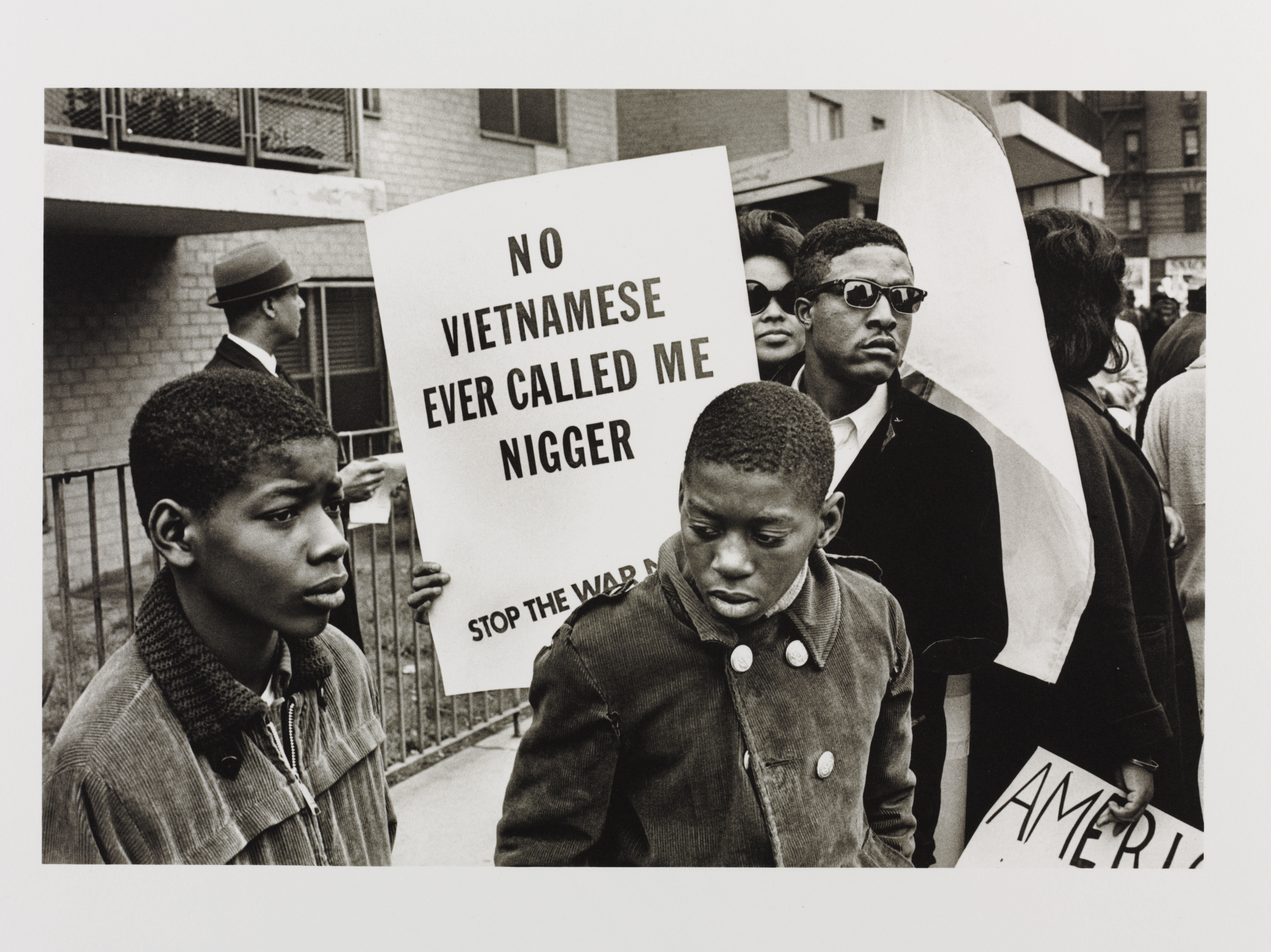 Builder Levy, Harlem Peace March, 1967. Londres, Victoria and Albert Museum