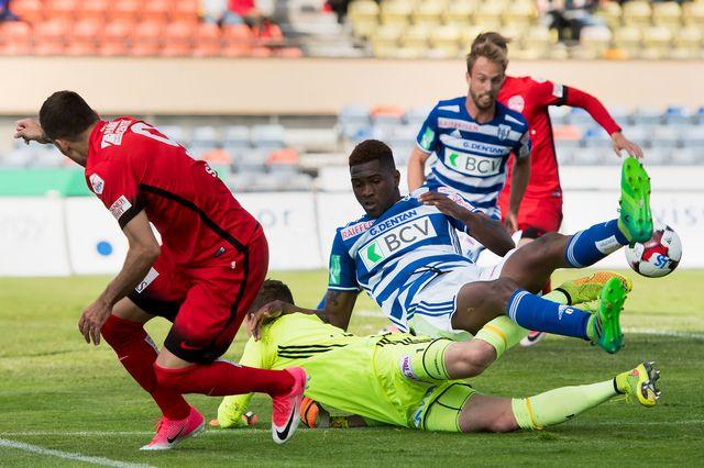 Le Lausanne Sport à déjà rencontré le FC Thun le 20 mai 2017. Jean-Christophe Bott Keystone [Jean-Christophe Bott - Keystone]