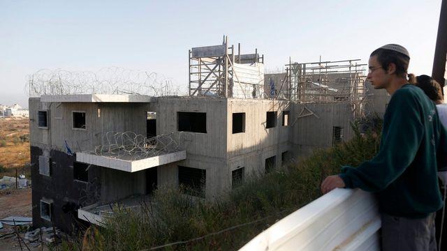 "Une colonie ""sauvage"" en Cisjordanie en juillet 2015. [EPA/ABIR SULTAN]"
