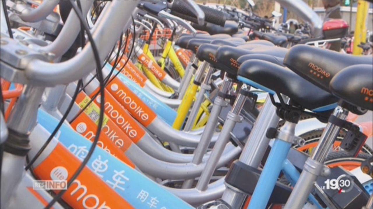 Les vélos asiatiques en libre service débarquent à Zürich [RTS]