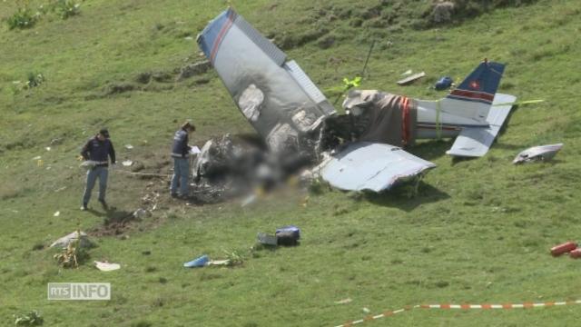 Trois morts dans le crash d'un avion de tourisme