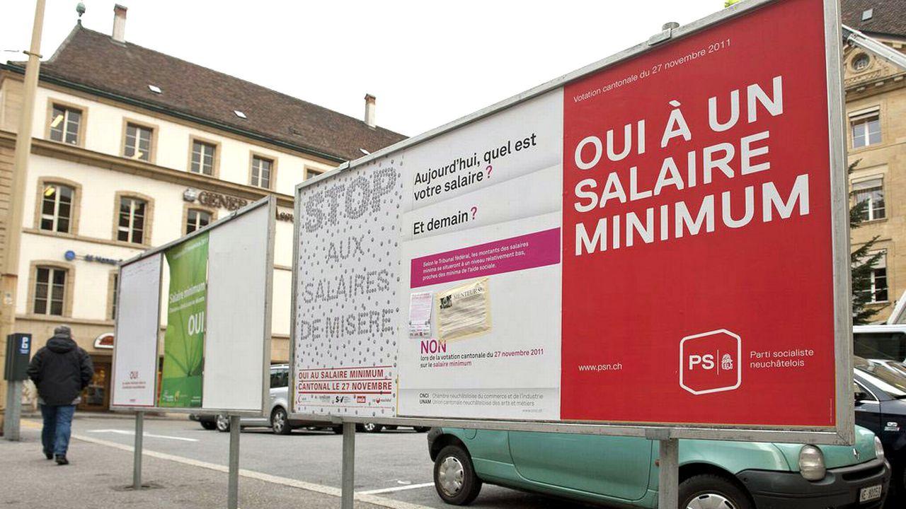 Les Neuchâtelois avaient accepté le principe du salaire minimum en 2011. [Sandro Campardo - Keystone]