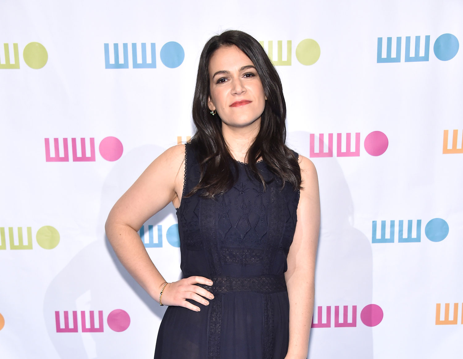 "Abbi Jacobson aux ""Worldwide Orphans 12th Annual Gala"" à New York en 2016."