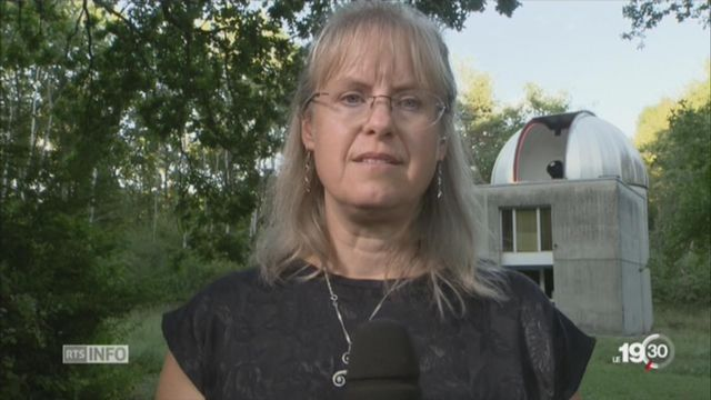 USA - Eclipse solaire: l'explication de Sylvia Erkstrom, Astrophysicienne (GE) [RTS]