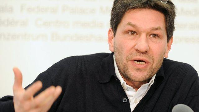Sandro Cattacin, spécialiste de l'intégration. [Lukas Lehmann - Keystone]