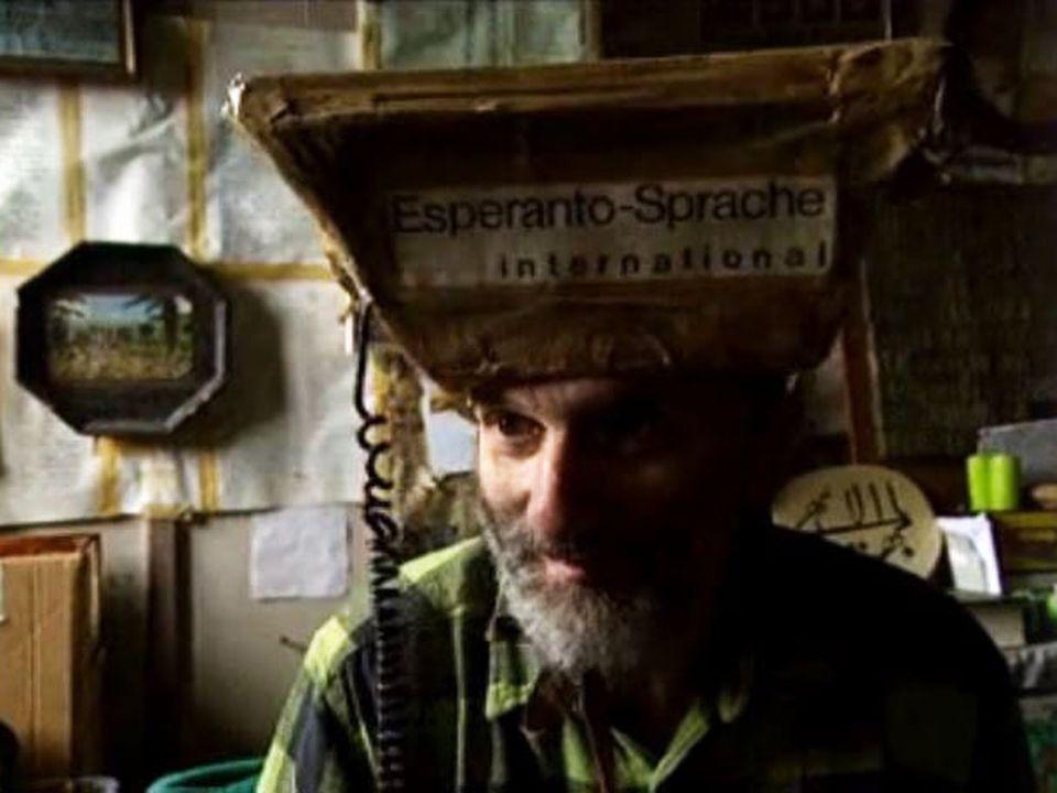 Parzival, l'écologie et l'esperanto pour projets. [RTS]