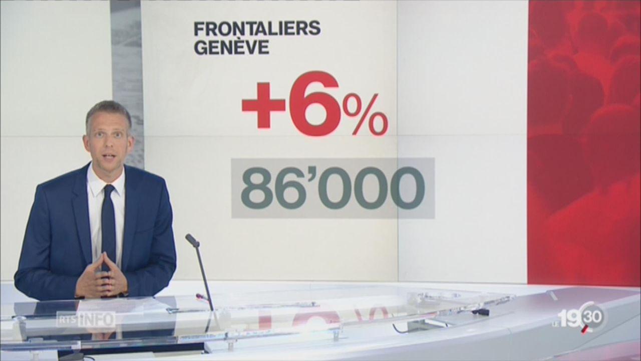 Préférence nationale à Genève: l'analyse de Gaspard Kühn [RTS]